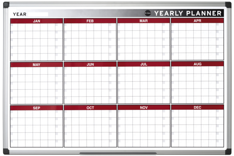 Yearly Planner Template PDF