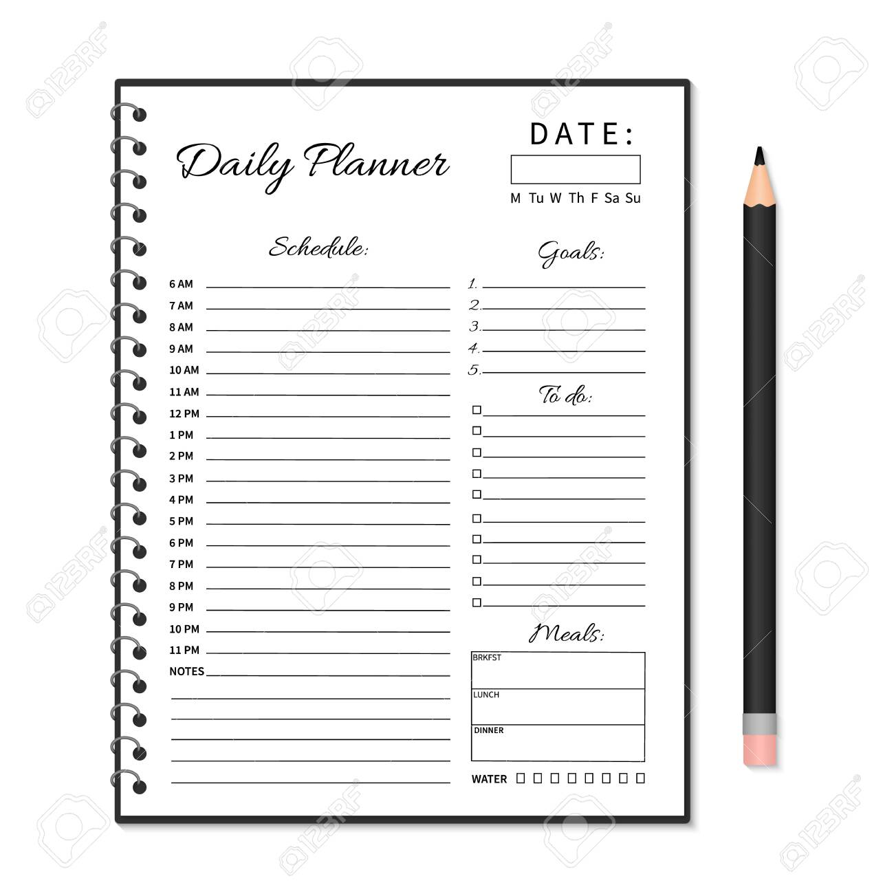 Free Printable Daily Planner for Students